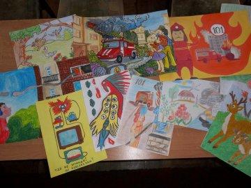 Відбувся І (районний) етап  Всеукраїнського конкурсу дитячого малюнку та живопису «Пожежна та техногенна безпека»