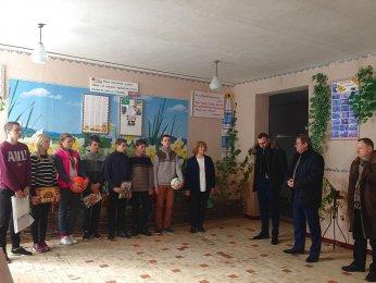 У гостях в Запрудському НВО побували представники ДП «НАЕК «Енергоатом»