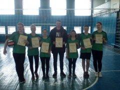Районні змагання з волейболу серед дівчат
